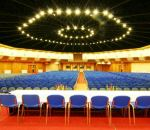 Interior of the largest conference room: TOP Congress Hall