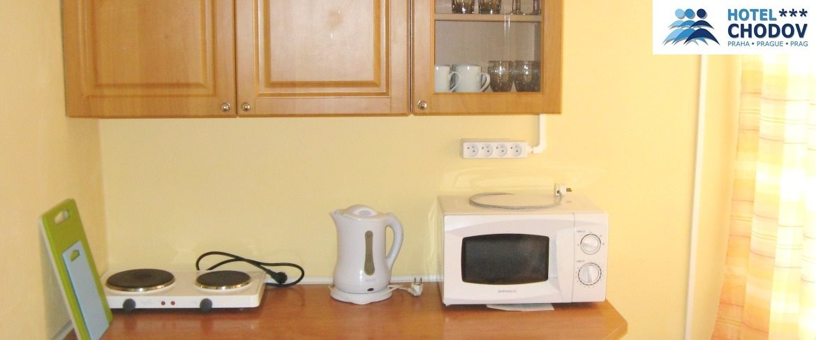 Hotel Chodov Praha - fully equipped separate kitchen in a comfortable Superior*** category SUITE