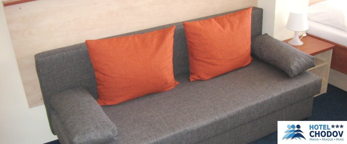 Hotel Chodov Praha - interior of a comfortable Superior*** category SUITE with a fold-out sofa